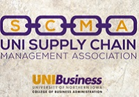 UNI Supply Chain Management Association club logo